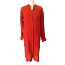 Hermès-Dress-Orange