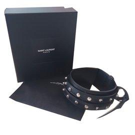 Yves Saint Laurent-Bracelet-Noir