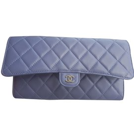 Chanel-Handbags-Blue,Grey