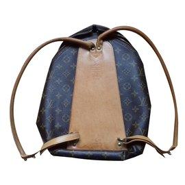 Louis Vuitton-Sac à dos Sybilla édition limitée 100 ans du mongramme Vuitton-Marron foncé