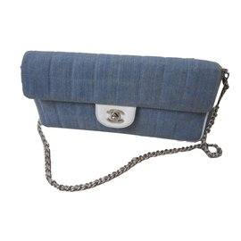 Chanel-Timeless baguette-Blue