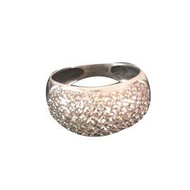 inconnue-Diamant-Ring-Silber