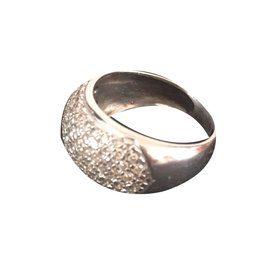 inconnue-Diamond ring-Silvery