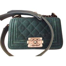 Chanel-Chanel Boy-Green