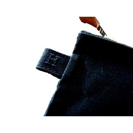 Hermès-Pochette Bora-Bora-Noir