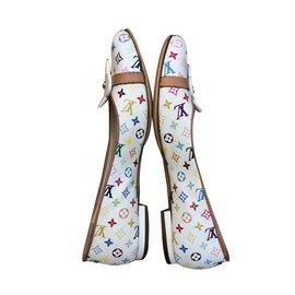 Louis Vuitton-Ballerines-Multicolore