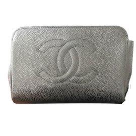 Chanel-Pochette trousse-Noir