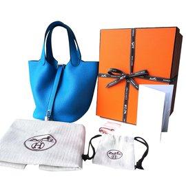 Hermès-Picotin Lock 18-Blue