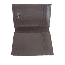 Montblanc-Petit portefeuille/ porte-carte-Noir