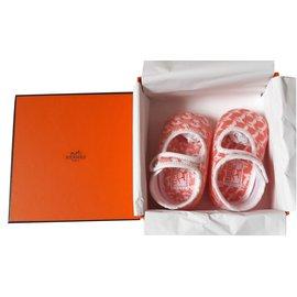 Hermès-Chaussons Hermès pour bébé-Multicolore