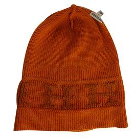 Hermès-Bonnet Hermès-Orange