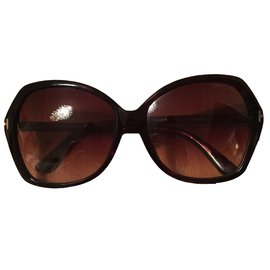 Tom Ford-Lunettes-Marron