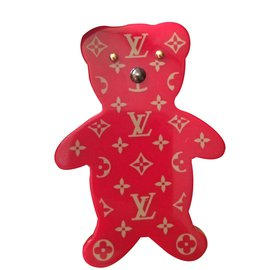 Louis Vuitton-Brooch-Red