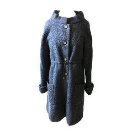Chanel-Coat-Blue