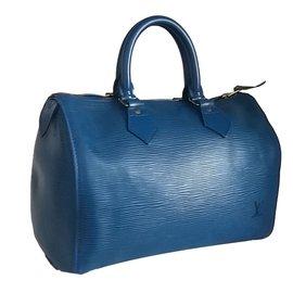 Louis Vuitton-speedy 25 vintage-Bleu