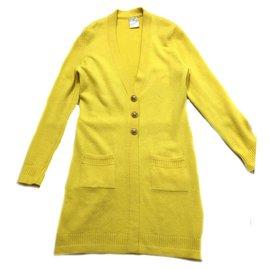 Chanel-Cardigan-Yellow