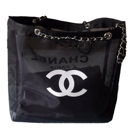 Chanel-Sac cabas-Noir