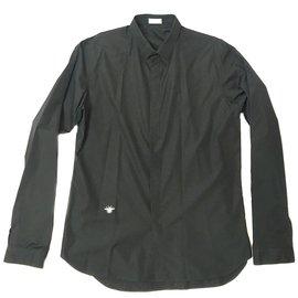 Dior-Chemises-Noir