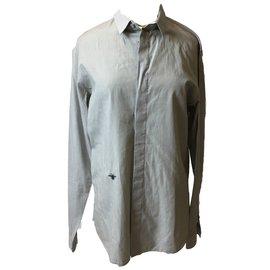 Dior-Chemises-Gris