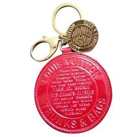 Louis Vuitton-porte clé louis vuitton édition limitée-Rouge