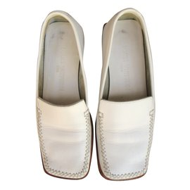 Louis Vuitton-Mocassins-Blanc