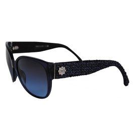 Chanel-Lunettes-Bleu Marine