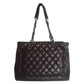 Chanel-Shopping tote-Marron