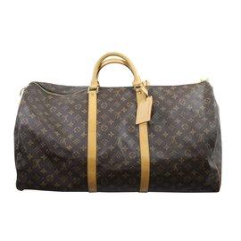 Louis Vuitton-Keepall 60-Marron