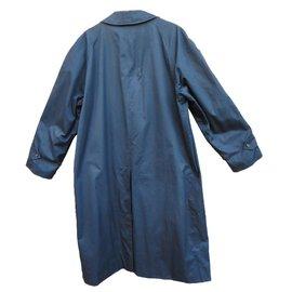 Burberry-imperméable-Bleu Marine