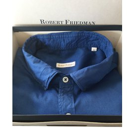 Autre Marque-Robert Friedman Chemises-Bleu Marine