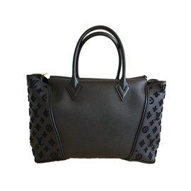 Louis Vuitton-T0TE W   LOUIS VUITTON-Noir