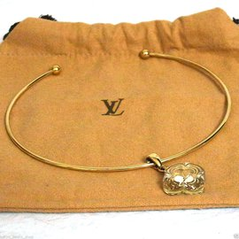 Louis Vuitton-collier vuitton-Doré