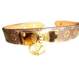 Louis Vuitton-Bracelets-Marron