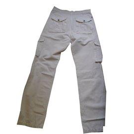 Tommy Hilfiger-Pantalons homme-Blanc