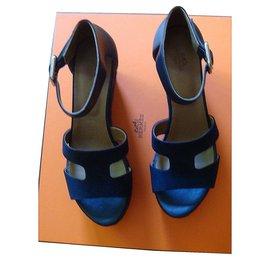 Hermès-ILANA-Bleu Marine