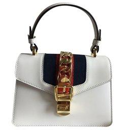 Gucci-Sacs à main-Blanc