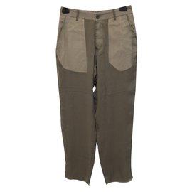 Rick Owens-Pantalon-Kaki