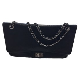 Chanel-Magnigique Chanel jumbo long-Noir