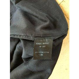 Isabel Marant-Robe coton-Noir