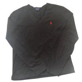 Ralph Lauren-tee-shirt Ralf Lauren-Noir