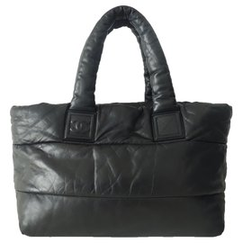 Chanel-SAC CHANEL COCOON CUIR REVERSIBLE-Noir
