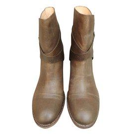 Belle Sigerson Morrison-Ankle Boots-Light brown