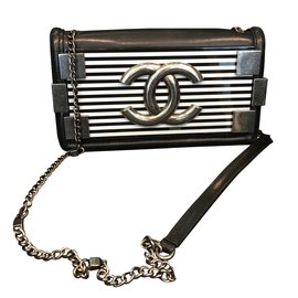 Chanel-Le boy brick horizontal-Bleu