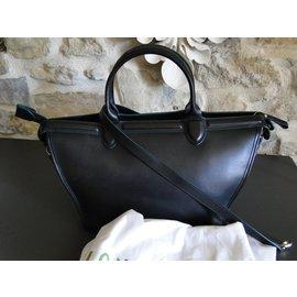 Longchamp-LE PLIAGE HERITAGE-Noir