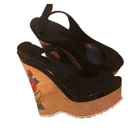 Gucci-Sandales-Noir