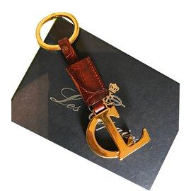 Les Copains-Porte clés-Marron,Doré