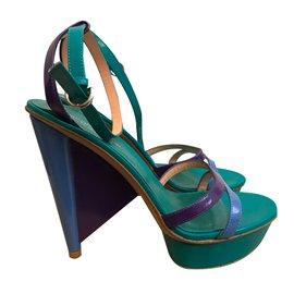 Sergio Rossi-Sandales-Multicolore