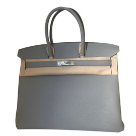 Hermès-Birkin  verso  35-Gris