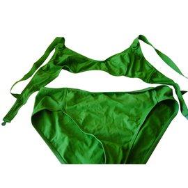 Eres-Deux pièces ERES vert-Vert