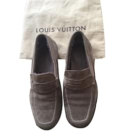 Louis Vuitton-Mocassins fourrés Louis Vuitton-Beige